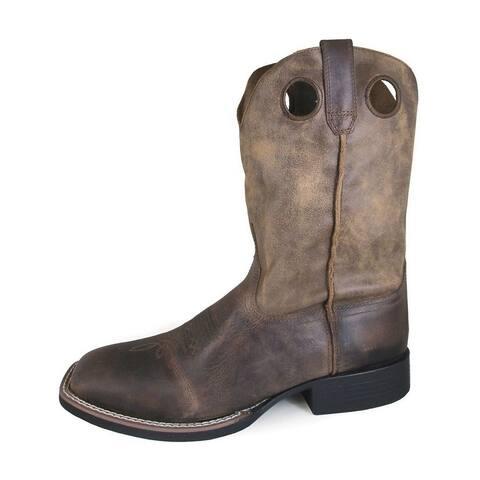 Smoky Mountain Western Boots Mens Waylon Brown Oil Distr