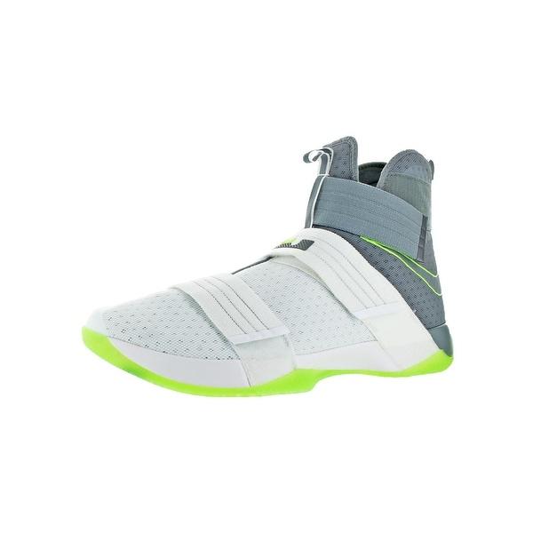 b3526f9b2c5 Nike Mens Lebron Soldier 10 SFG Basketball Shoes Lebron James Cut-Out - 18  medium