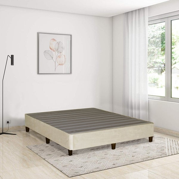 ONETON 13-Inch Platform Bed For Mattress, Eliminate Need For Box Spring And Frame, Beige.. Opens flyout.