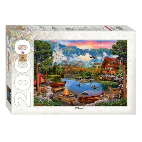 Mountain Lake 2000 Piece Jigsaw Puzzle for Adults & Kids