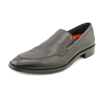 Cole Haan Lenox Hill. Vntn Men Round Toe Leather Black Loafer