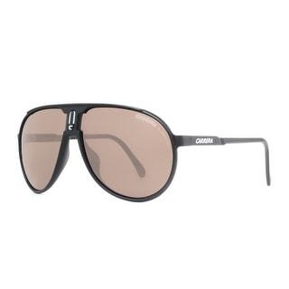 CARRERA Aviator Champion/L/S Unisex DL5 QT Matte Black Green Sunglasses - 62mm-12mm-125mm