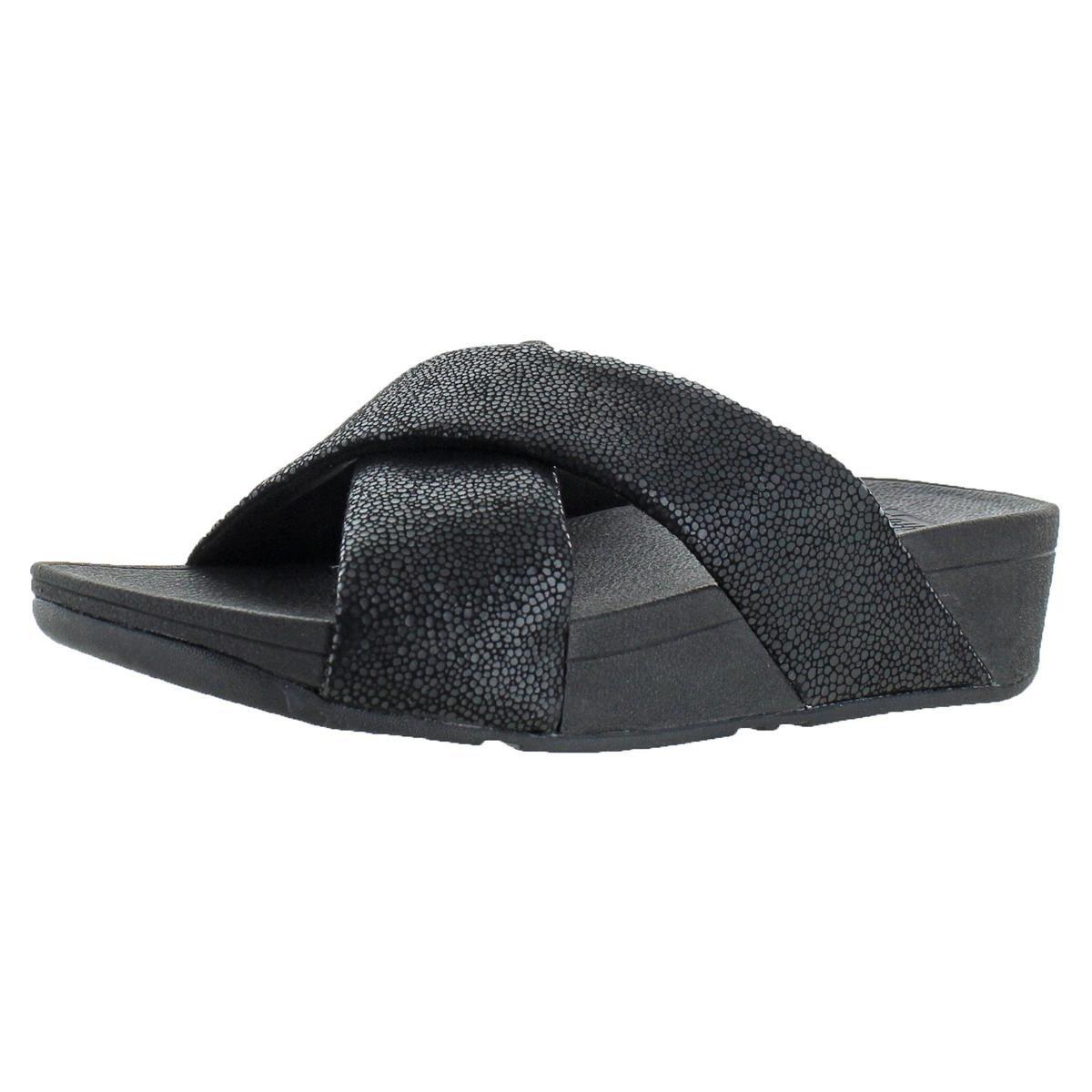 FitFlop Swoop Women's Slide Sandals