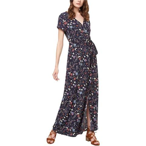 Sanctuary Clothing Womens Printed Maxi Dress, Blue, Small