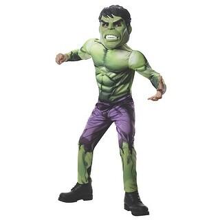 Avengers Hulk Costume Child