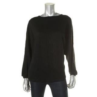 Allegra K Womens Knit Dolman Sleeves Pullover Sweater - S