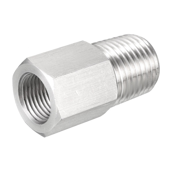 1 4 Npt >> Shop Pipe To Fitting Adapter Gauge Adapter 1 4 Npt Male Pipe X 1 8