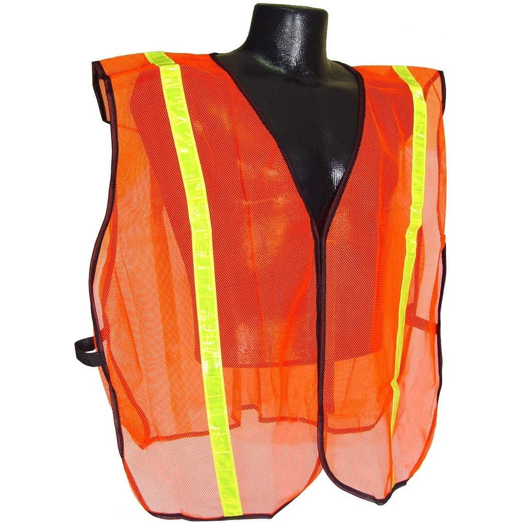 Radians SV01 Non Rated Safety Vest With 1 Tape, S/XL