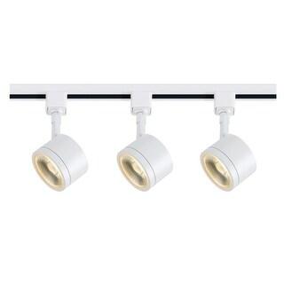 "Nuvo Lighting TK403 Light 3"" Wide LED H-Track Track Kit - White - N/A"
