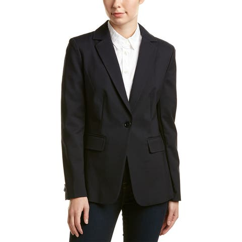 Ecru Pickstitch Blazer