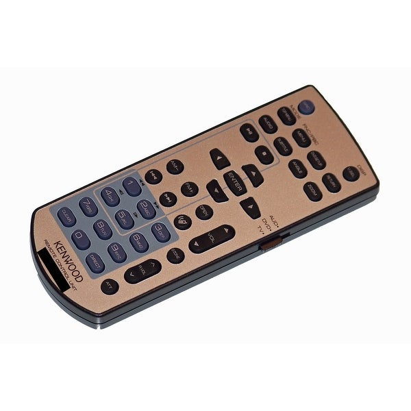 OEM Kenwood Remote Control Originally Shipped With: KVT719, KVT-719, KVT719DVD, KVT719DVD, KVT-719DVD, KVT-719DVD