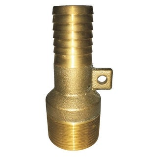 """Water Source MAR9125NL Brass Male Rope Adapter, No Lead, 1-1/4"""" MNPT x 1"""" Ins"""