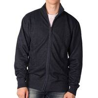 Outback Rider Young Men's Full-Zip Jaquard Acrylic Sweater