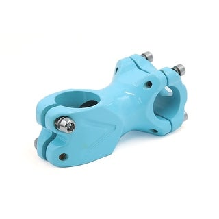 Blue Ceramic Fixed Gear Bicycle Bike Handlebar Stem Riser 25.4 x 28.6 x 60mm