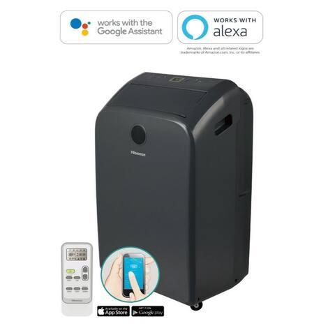 Hisense 300-sq ft. 6500BTU 115-Volt Portable AC & Dehumidifier Wi-Fi & Bluetooth AP1019CW1G