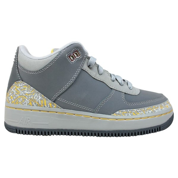 low priced 8cce5 b5887 Nike AJF 3 Air Jordan Fusion Flint Grey Varsity Maize-Silver Grade-School