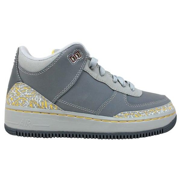 70eb6ae8be7a71 Nike AJF 3 Air Jordan Fusion Flint Grey Varsity Maize-Silver Grade-School