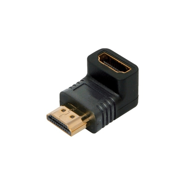 4XEM 4XHDMIMF90 4XEM 90 Degree HDMI A Male To HDMI A Female Adapter - 1 x HDMI (Type A) Male Digital Audio/Video - 1 x HDMI