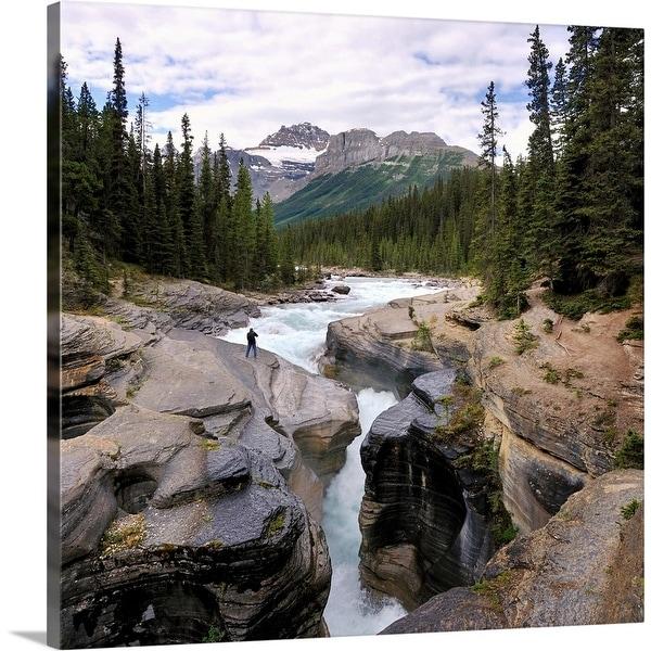 """Canyon, Canada"" Canvas Wall Art"