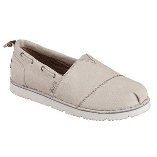 Skechers 34314 NAT Women's BOBS CHILL FLEX-HOT 2 TROT Flat