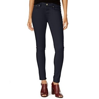Tommy Hilfiger Greenwich Sateen Skinny Pants - 10
