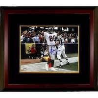 Andre Rison signed Atlanta Falcons 8X10 Photo Custom Framed TD Celebration