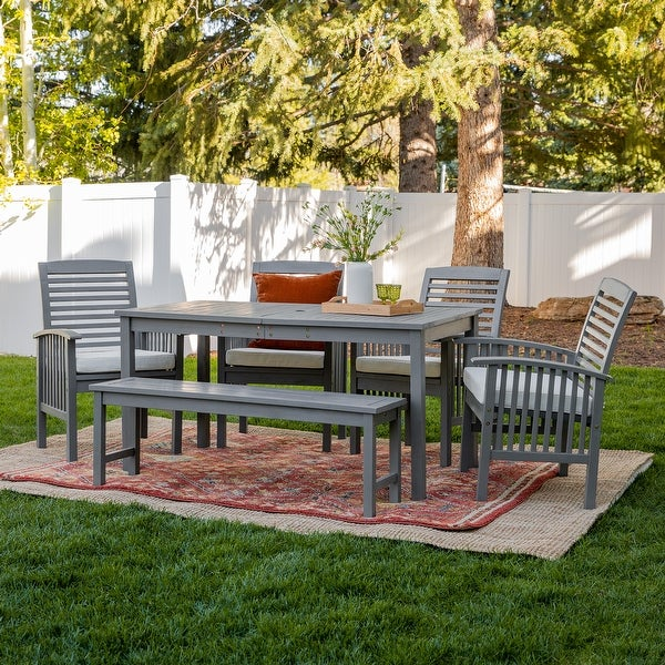 Acacia Outdoor 6-piece Dining Set by Havenside Home. Opens flyout.