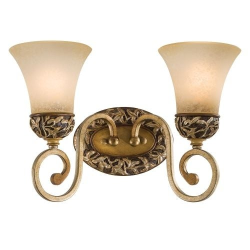 Minka Lavery ML 5552 2 Light Bathroom Vanity Light from the Salon Grand Collection