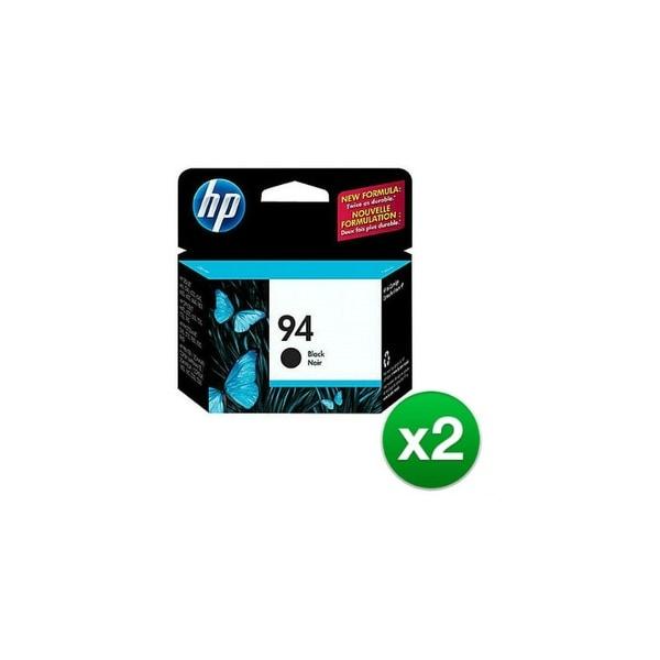 HP 94 Black Original Ink Cartridge (C8765WN) (2-Pack)