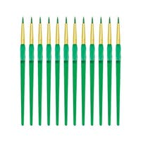 Royal Brush Big Kids Choice Round Paint Brush, Size 2, Pack of 12