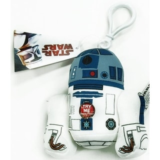 """Star Wars R2-D2 4"""" Talking Plush Clip On"""