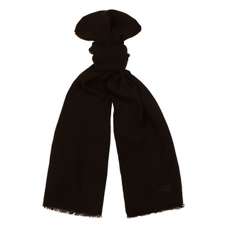 Moschino MOPSM0001/25 Black Solid Scarf