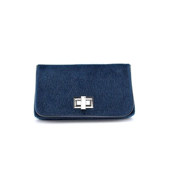 Shiraleah Philippa Women Synthetic Clutch NWT - Blue