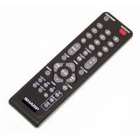 OEM Sharp Remote Control Originally Shipped With: GXM10, GX-M10, GXM10GM, GX-M10GM, GXM10RD, GX-M10RD
