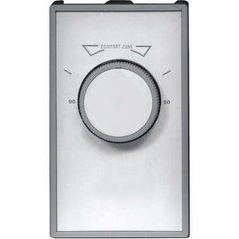 Tpi D2022 Thermostat Double Pole, White