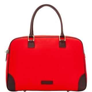 Dooney & Bourke Brooklawn Bowler Duffle (Introduced by Dooney & Bourke at $328 in Dec 2015) - Red