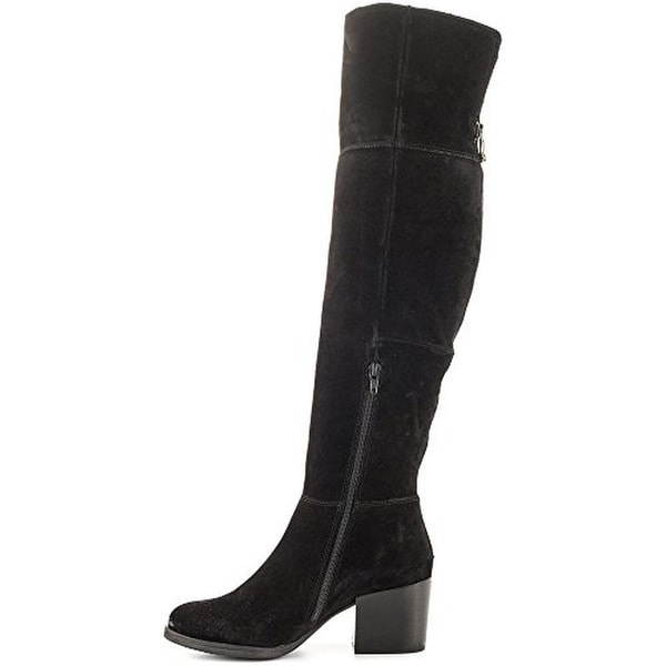 Steve Madden Womens Orabela Over-The-Knee Boots Suede Solid