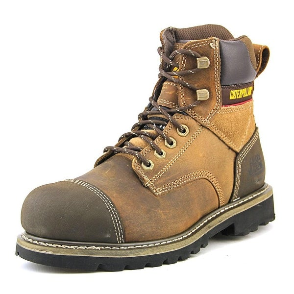 "Caterpillar Traction 6"" ST Men Steel Toe Leather Work Boot"