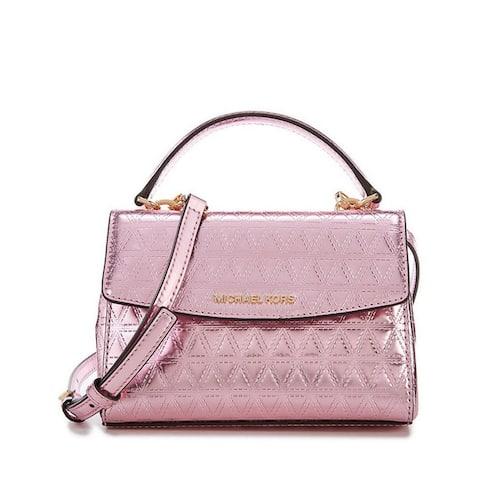 MICHAEL Michael Kors Ava Mini Specchio Leather Crossbody Bag, Soft Pink - X Small