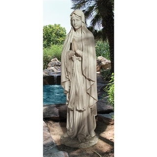 Design Toscano Life-Size Blessed Virgin Mary Statue