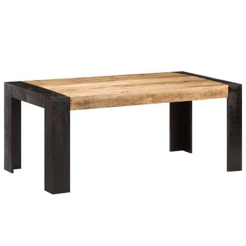 "vidaXL Dining Table 70.9""x35.4""x29.9"" Solid Mango Wood"