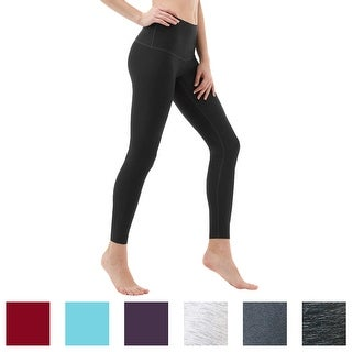 TSLA Tesla FYP52 Women's High-Waisted Ultra-Stretch Tummy Control Yoga Pants