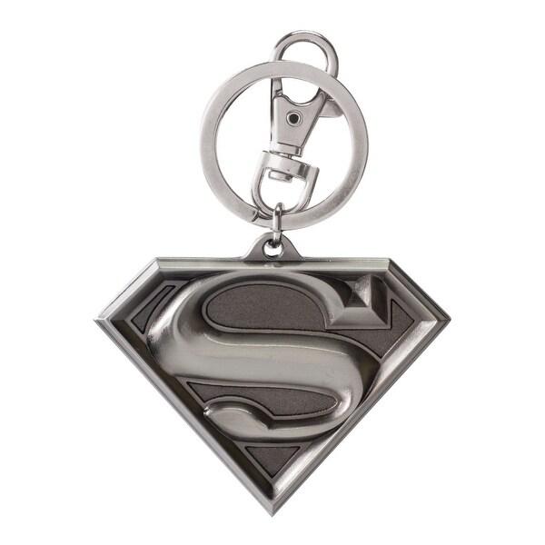DC Comics Superman Logo Pewter Key Ring - Multi
