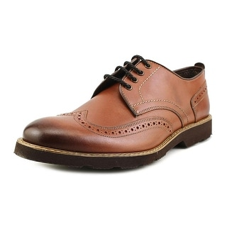 Florsheim Casey Wing Ox Men Round Toe Leather Brown Oxford