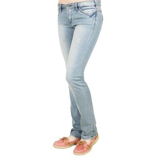 Parasuco Low Rise Straight Jeans in Indigo