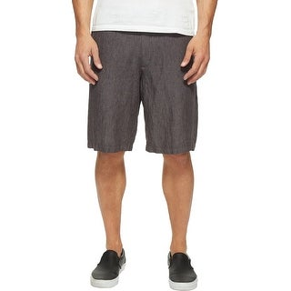 Perry Ellis NEW Slate Gray Mens Size 30 Straight Drawstring Shorts