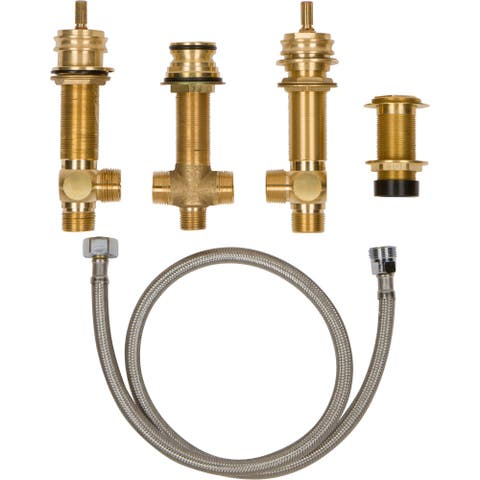 "Newport Brass 1-712 2-Valve Rough In with 3/4"" NPT Outlets"