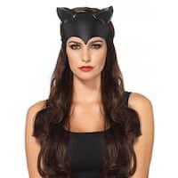 Molded Cat Ear Mask Adult Costume Accessory