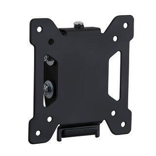 "Mount-It! Tilting TV and Computer Monitor Wall Mount Bracket Fits 24, 27, 30 and 32"" Screens Up to VESA 100 Black MI-203T - N/A"