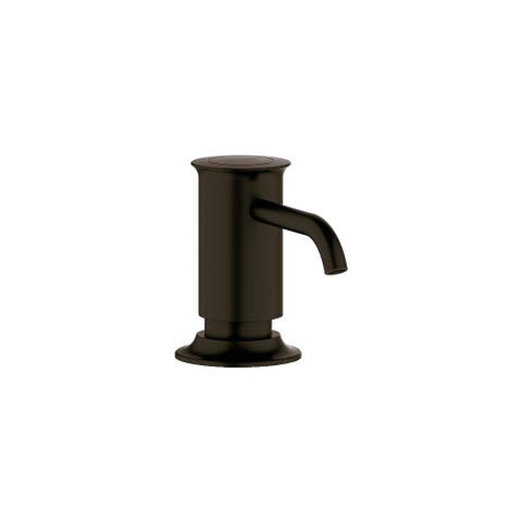 Grohe 40 537 Authentic Soap Dispenser Top Fill with 15 Ounce Capacity